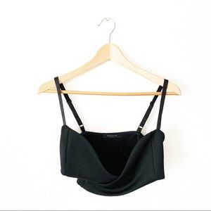 NASTY GAL UNDER WRAPS BUSTIER CROP TOP